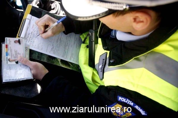 Record al polițiștiilor din Alba! 130 de amenzi aplicate zilnic șoferilor vitezomani, în perioada 13 – 19 aprilie