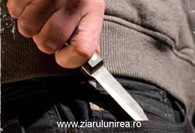 Un bărbat de 50 de ani din comuna Avram Iancu şi-a înjunghiat mama, în urma unui scandal în familie. Poliţiştii l-au arestat preventiv