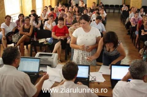 Repartizare TITULARIZARE 2014, în Alba. Repartizarea candidaților pentru angajare pe perioadă nedeterminată are loc joi și vineri