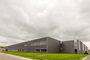 Imagini de exterior cu noua fabrica Bosch'