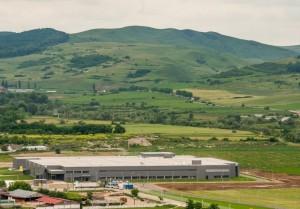 Imagini panoramice cu noua fabrica