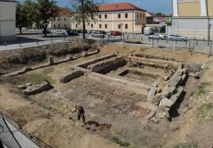 sit arheologic Comandamentul Legiunii a XIII-a Gemina Alba Iulia