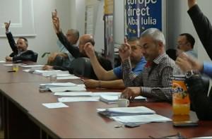 vot sedinta consiliul local alba iulia