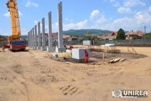 FOTO: Lucrările la magazinul Lidl din Alba Iulia continuă. Primele cumpărături pot fi făcute în octombrie