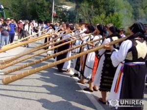 Parada portului Popular pe Muntele Găina12