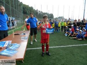 """FOTO: Viitorul Abrud – locul secund la """"Trofeul Campionilor"""", Răducu Pocol - golgheterul turneului"""