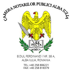camera notarilor publici alba