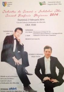Concert Orchestra de Camera a Judetului Alba