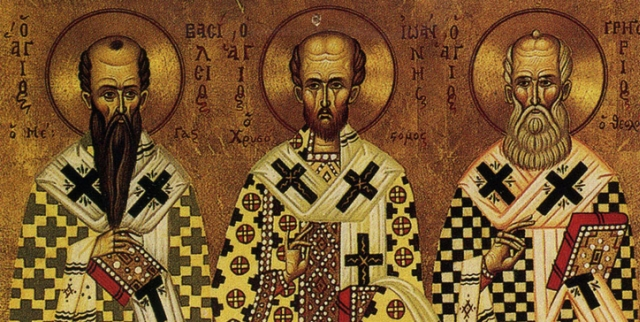 30 ianuarie: Ziua Sfinților Trei Ierarhi Vasile, Grigorie și Ioan