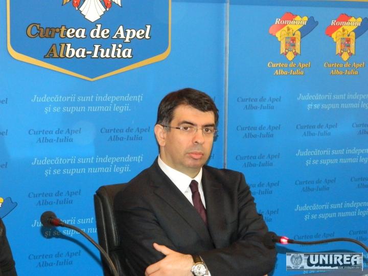 Ministrul Justiției, Robert Cazanciuc, vine la Alba Iulia – Va fi prezent, luni, la ședința de bilanț a Curții de Apel