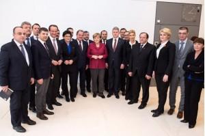 Hava in vizita la Merkel