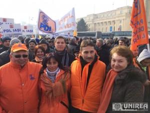 PDL Alba la mitingul organizat la Bucuresti13