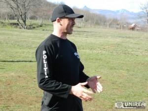 Mihai Airini instructor trupele speciale IPJ Alba