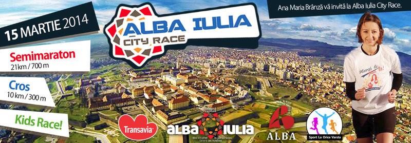 semi maraton Alba Iulia 2014 City Race