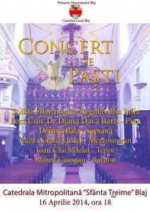 Concert de Pasti la Blaj
