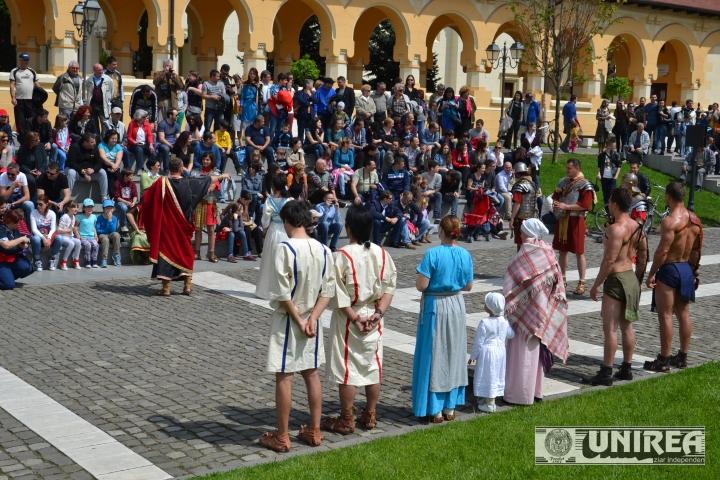 Targ de sclavi - Festivalul Roman Apulum24