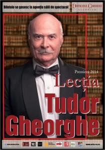 Tudor Gheorghe Lectia afis 1-1