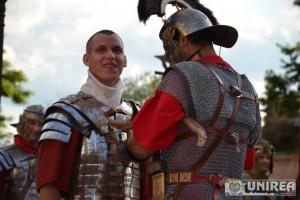 Spectacol daci si romani in Cetate023