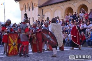 Spectacol daci si romani in Cetate105