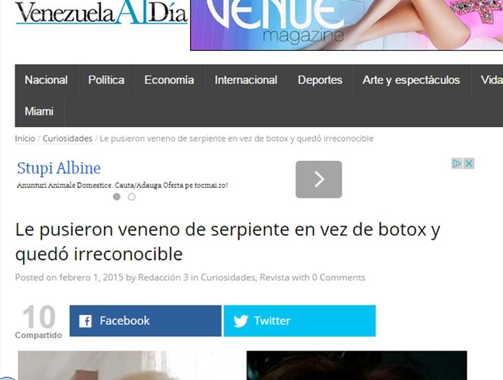 cazul Raluca in Venezuela