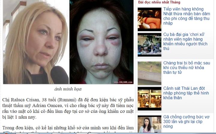 cazul Raluca in Vietnam