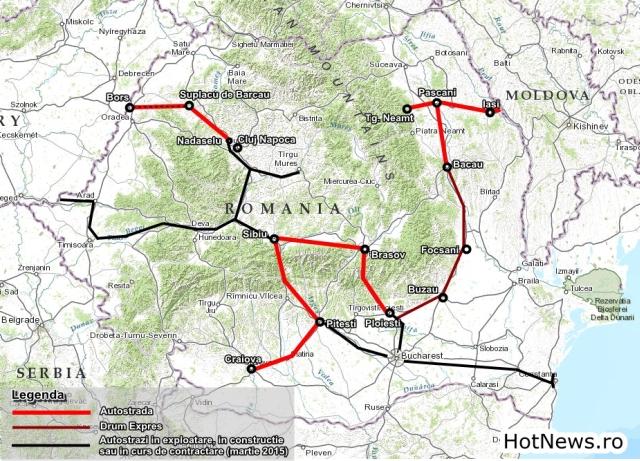 harta autostrazi 202001