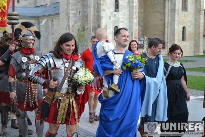 nunta in stil roman la Alba Iulia (3)