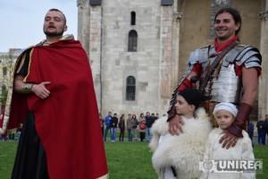 Targ de sclavi la Festivalul Roman Apulum22