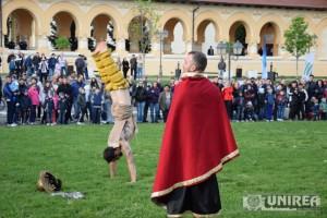 Targ de sclavi la Festivalul Roman Apulum46