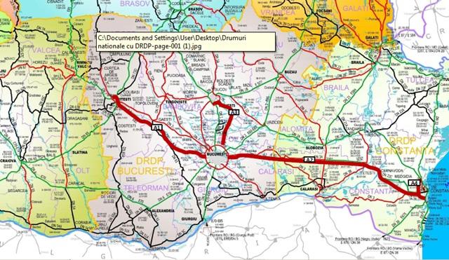 harta autostrazi 2